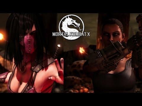 Mileena vs. Jacqui Briggs - Sexy Mortal Kombat X Gameplay