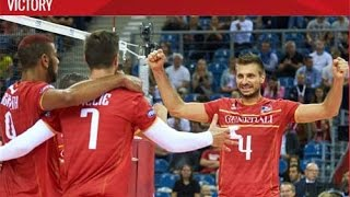 After beating  United States volleyball team  , Iran was defeated by France !
