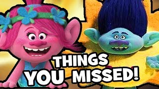 TROLLS HOLIDAY Easter Eggs & Things You Missed!