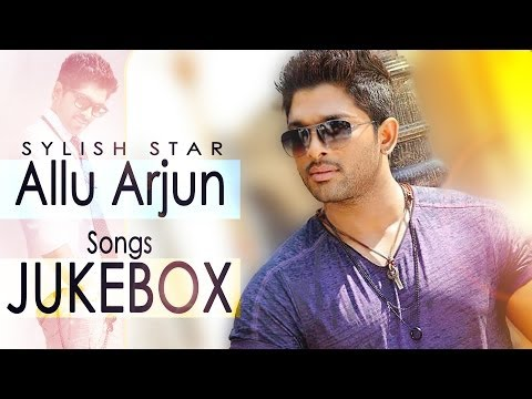 allu arjun romantic hit songs jukebox full mobile movie