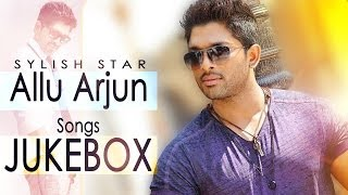 Allu Arjun Romantic Hit Songs || Jukebox