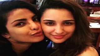 Priyanka Chopra And Parineeti Chopra Cute Selfie