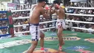 Myanmar lethwei, Win Tun vs Lone Chaw, 1/2