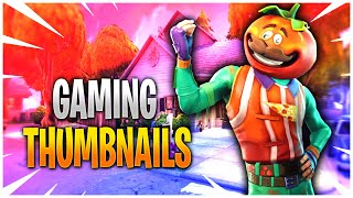 How to Make Gaming Thumbnails in Photoshop (with Free Template)