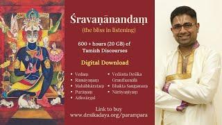 Upanyasam on Sri Vishnu Sahasranamam by Sri.Dushyanth Sridhar - Part 8 - Names 033-034