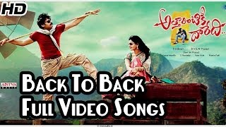 Attarintiki Daredi    Back To Back Video Songs    Pawan Kalyan, Samantha, Pranitha