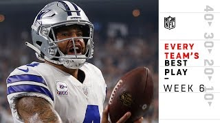 Every Team's Best Play from Week 6   NFL Highlights