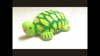 How To Make Turtle Keychain At Home
