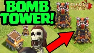 Clash of Clans UPDATE - NEW BOMB TOWER!! New Defense!