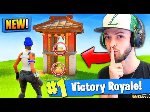 ALL *NEW* SECRET CHESTS FOUND in Fortnite: Battle Royale!
