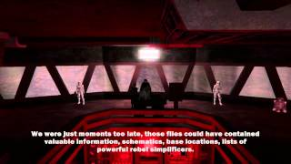 Star Wars Jedi Knight III: Jedi Academy - Darth Vader: Enter The Dark Lord (Cutscenes)