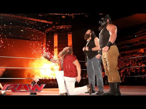 Bray Wyatt shows that the powers of The Undertaker and Kane now belong to him: Raw, November 2, 2015