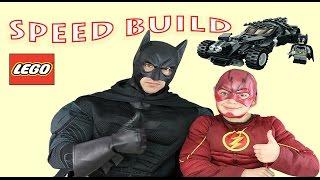 Batman vs Superman Dawn of Justice Lego Set 76045 Batmobile Flash Speed Build