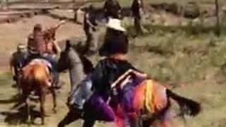 LAKOTA PROTEST USING THE SPIRIT HORSES