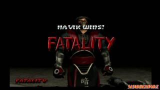 Mortal Kombat Deception - All Fatalities On Noob-Smoke