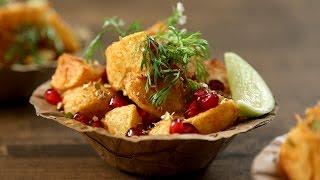 Aloo Chaat Recipe | Quick & Popular Indian Chaat Recipe | The Bombay Chef - Varun Inamdar