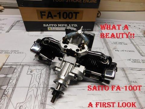 Saito FA-100T A First Look