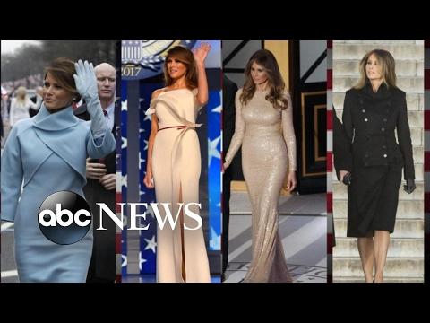 watch Melania Trump Using Fashion to Put 'America First'