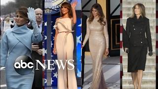 Melania Trump Using Fashion to Put