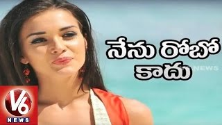Amy Jackson Reveals Secret About Her Role In Rajinikanth's Robo 2 | Tollywood Gossips | V6 News