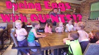 Dyeing Eggs with Quints!?