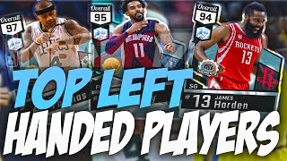 BEST LEFT HANDED PLAYERS OF ALLTIME! NBA 2K17 SQUAD BUILDER