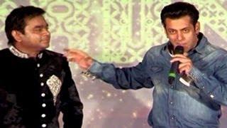 Salman Khan INSULTS A.R.Rahman in public