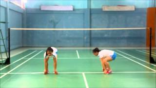 Badminton Warm up and Stretching