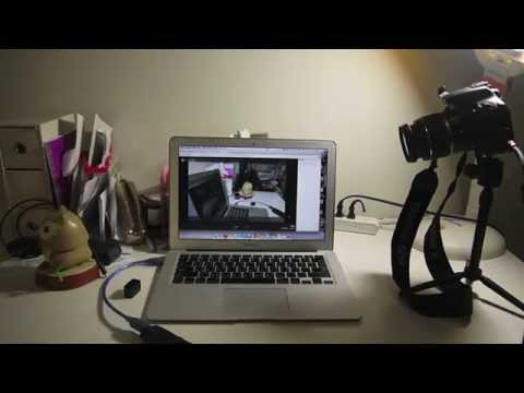 Use DSLR Camera as a Webcam for GOOGLE plus hangout by UVC HDMI grabber card