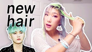 Surprise! (why I Can't Leave My Hair Alone Lol) - GREEN HAIR