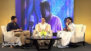 Samantha Special Interview with Mahesh Babu, Kajal Aggarwal || #Brahmotsavam Special || Vanitha TV