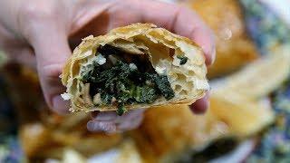 Spinach Puffs Recipe - Armenian Cuisine - Heghineh Cooking Show