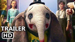 DUMBO Trailer # 2 (NEW 2019) Disney, Tim Burton Movie HD