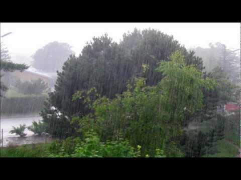Sonido de lluvia real muy Relajante