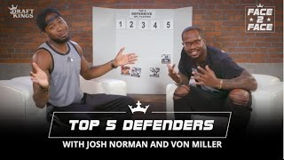 Face 2 Face with Josh and Von - Ranking The Top 5 Defensive Players
