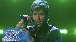 "Enrique Iglesias Stops The Show With ""Heart Attack"" - THE X FACTOR USA 2013"