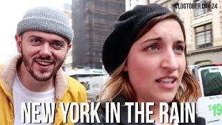 NEW YORK IN THE RAIN | VLOGTOBER DAY 24