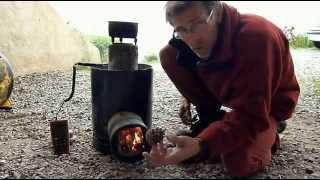 Ep 1 : Fabriquer 3 types de poele rocket / 3 Homemade rocket stoves