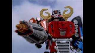 Super DriveMax Megazord First Fight | Power Rangers Operation Overdrive (Episode 9)