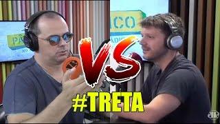 Pânico no rádio 2017 - Melhores momentos #5 (Carioca vs Daniel)