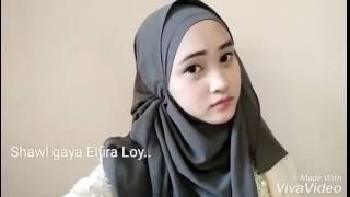 | Tutorial Shawl Elfira Loy | NATASYAIXANI