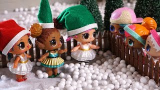 LOL SURPRISE DOLL Elves Lose Their Way Back To The NORTH POLE!
