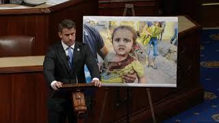 HFAC member Rep. Adam Kinzinger urges action against the Syrian regime