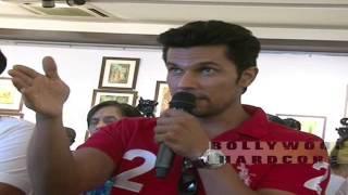 Rang Rasiya (Colours of Passion) Movie 2014 - Promotion - Randeep Hoda Press Conference