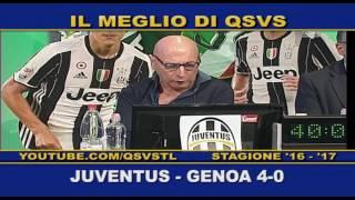 QSVS - I GOL DI JUVENTUS - GENOA 4-0 TELELOMBARDIA / TOP CALCIO 24