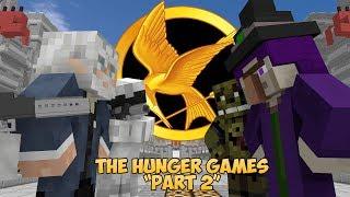 FNAF vs Mobs: The Hunger Games Challenge Part 2 - Monster School (Five Nights At Freddy