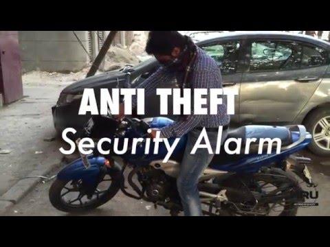 HRU Anti Theft Security Alarm For All Bikes