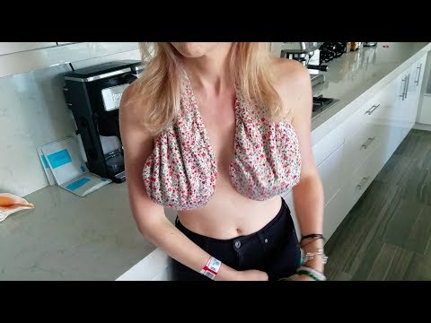 Xxx Mp4 Trying The TATA Towel Bra TOWEL FOR YOUR BOOBS REVIEW 3gp Sex