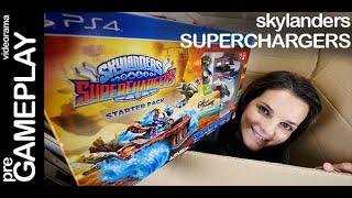 Skylanders Superchargers unboxing en español