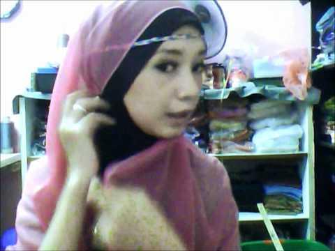 4 Review Hijab Adra custom made by butikpinkku